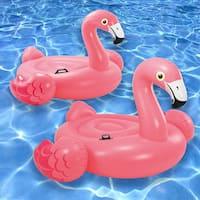 Intex Mega Flamingo & Flamingo Ride On Combo Pack