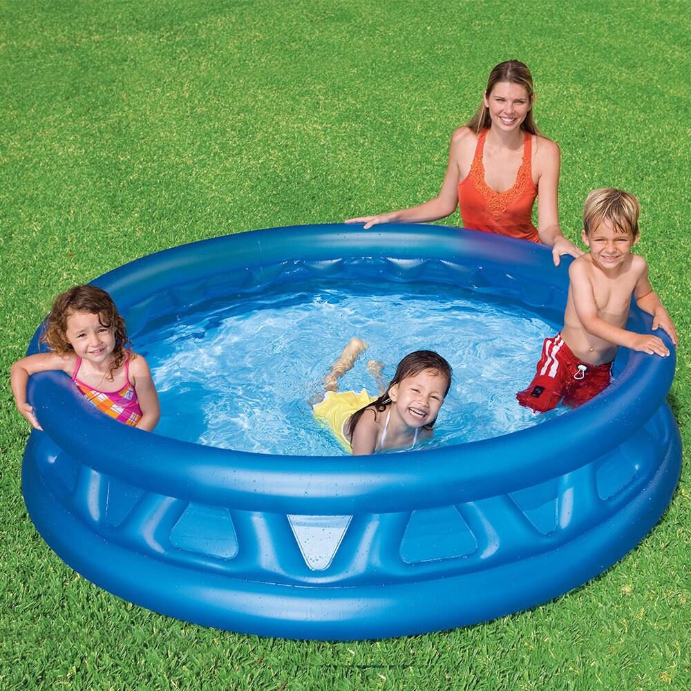 Intex Recreation Soft Side Pool (Soft Side Pool), Blue