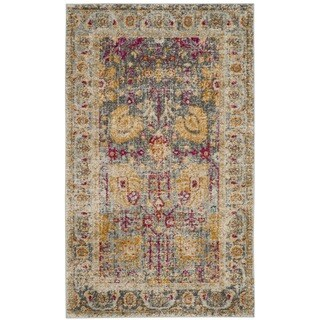 Safavieh Granada Vintage Bohemian Light Grey / Multi Rug (3' x 5')