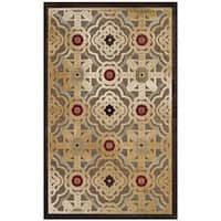 Safavieh Martha Stewart Collection Nutmeg Viscose Rug - 3' 3 x 5' 7