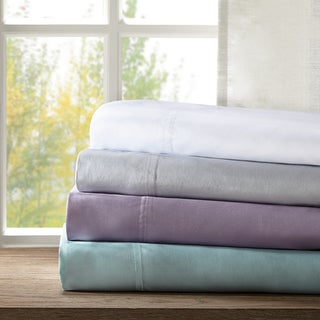 Sleep Philosophy Rayon From Bamboo Sheet Set 4 Color Option