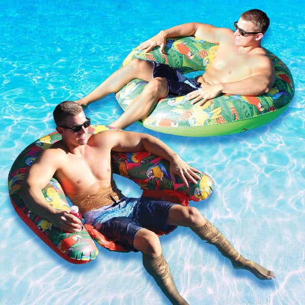 Margaritaville Water Bug Float and Sit and Sip Combo-Pack for Swimming Pools
