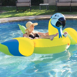 Margaritaville Giant Parrothead Float for Swimming Pools