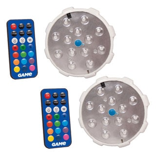 GAME Color Changing Swimming Pool Wall Light, 2-Pack