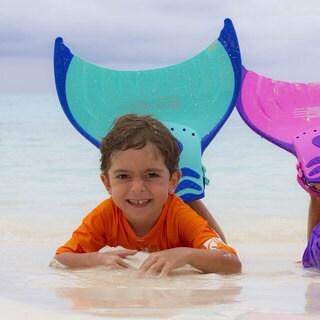 Body Glove Mermaid Linden Mono Fin (Option: Pink)