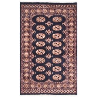 Handmade One-of-a-Kind Bokhara Wool Rug (Pakistan) - 3'1 x 4'10