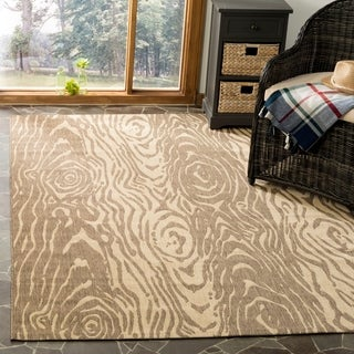 Safavieh Martha Stewart Coffee / Sand Area Rug (5'3 x 7'7)