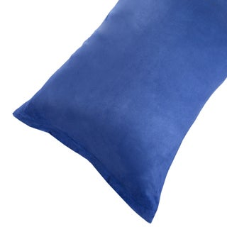 Body Pillow Cover, Soft Micro-Suede Pillowcase with Zipper, Fits Pillows Up To 50 Inches by Windsor Home
