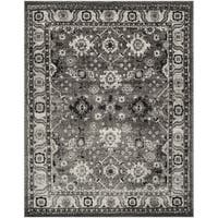 Safavieh Vintage Hamadan Traditional Grey / Black Distressed Rug - 8' x 10'