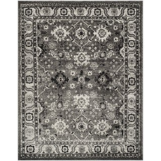 Safavieh Vintage Hamadan Traditional Grey / Black Rug (9' x 12')