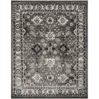 Safavieh Vintage Hamadan Traditional Grey / Black Distressed Rug - 9' x 12'