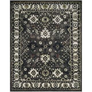 Safavieh Vintage Hamadan Dark Grey / Ivory Area Rug (9' x 12')