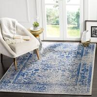 Safavieh Adirondack Vintage Oriental Grey / Blue Rug - 6' x 6' Square
