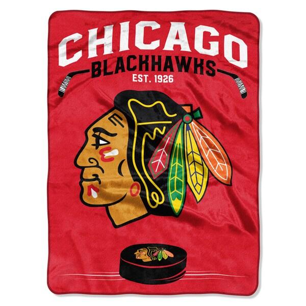 NHL 0802 Blackhawks Inspired Rsachel Throw