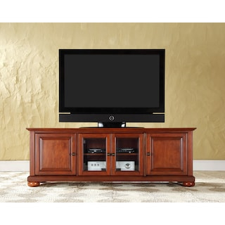 Shop Alexandria Classic Cherry 60 Inch Low Profile Tv Stand Free