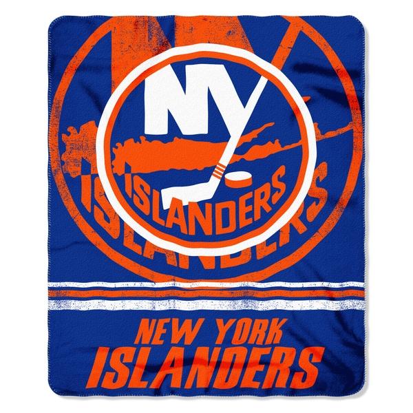 NHL 031 Islanders Fade Away Fleece Throw
