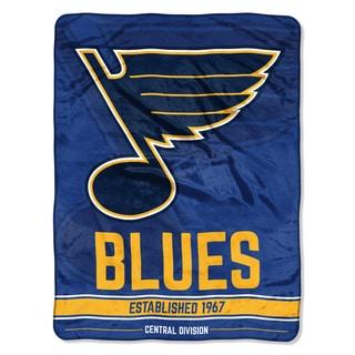 NHL 059 Blues Breakaway Micro Throw