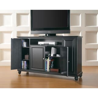 Crosley Furniture Cambridge Black 60-inch TV Stand