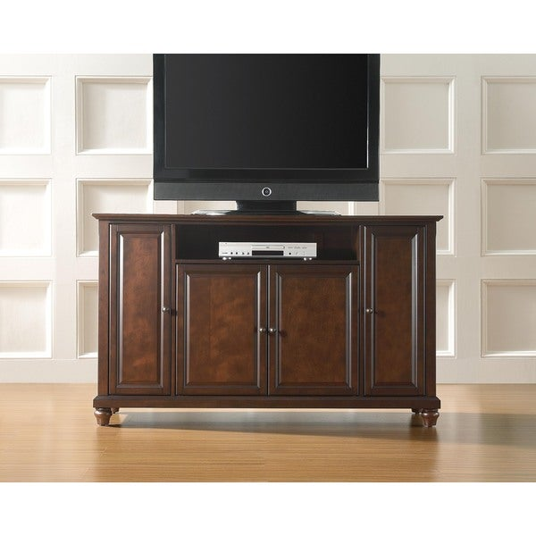 Shop Crosley Furniture Cambridge Vintage Mahogany 60 Inch Tv Stand