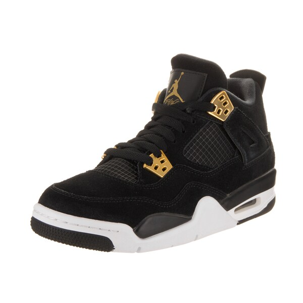 7545e9b43d7e Shop Nike Jordan Kids Air Jordan 4 Retro BG Basketball Shoe - Free ...