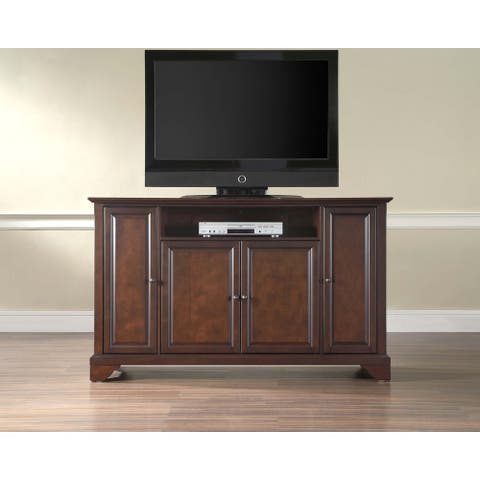 Layfayette Brown Wood 60-inch TV Stand