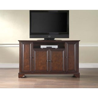 Crosley Furniture Layfayette Brown Wood 60-inch TV Stand