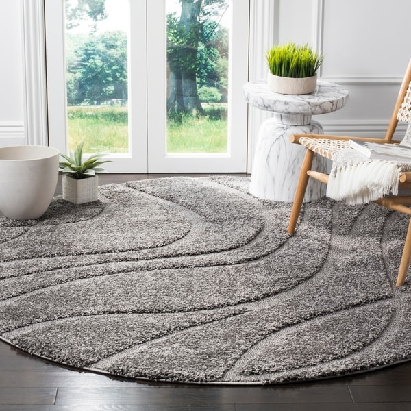 Shop Safavieh Florida Ultimate Shag Contemporary Grey