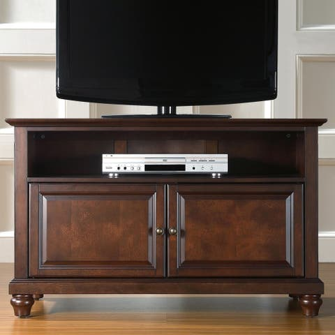"Cambridge 42"" TV Stand in Vintage Mahogany"