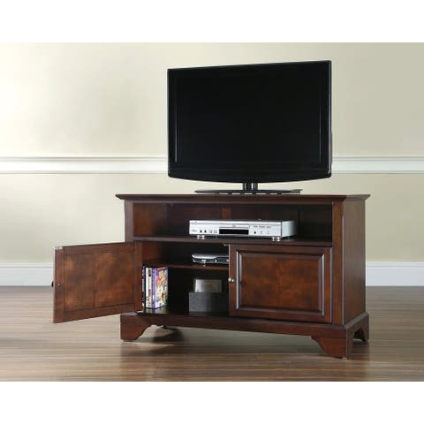 "Lafayette 42"" TV Stand in Vintage Mahogany Finish"