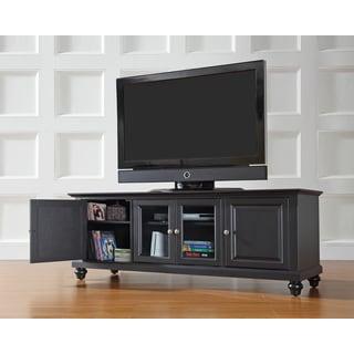 Cambridge Black Finish Wood 60-inch Low Profile TV Stand