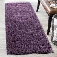 Safavieh Arizona Southwestern Purple Shag Runner Rug - 2' x 8'