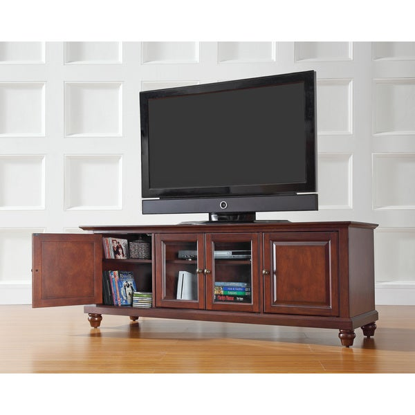 Cambridge Vintage Mahogany Finish 60-inch Low Profile TV Stand