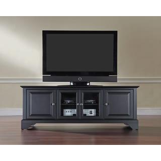 "Lafayette 60"" Low Profile TV Stand in Black Finish"