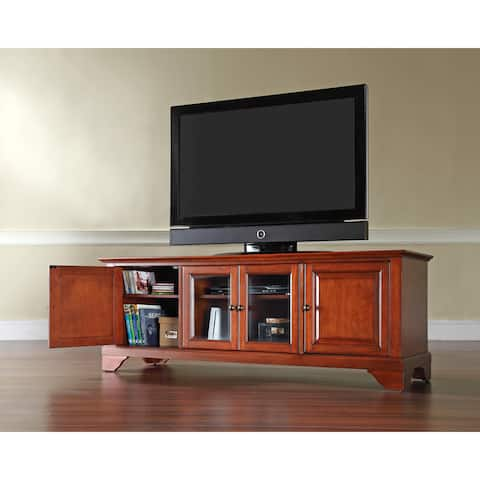 Lafayette Cherry Wood Low-profile TV Stand
