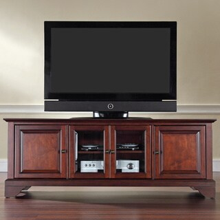 """Lafayette 60"""" Low Profile TV Stand in Vintage Mahogany"""