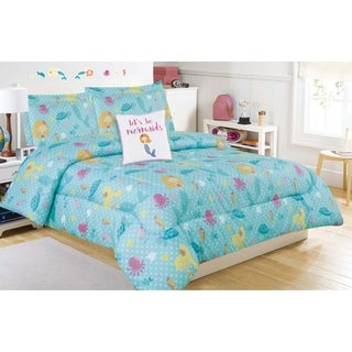 Under the Sea Comforter Set with Decorative Pillow