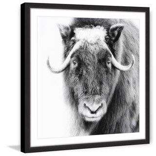 Look at Me' Framed Painting Print