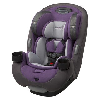 Safety 1® Grow and Go EX Air 3-in-1 Convertible Car Seat, Royal Grape