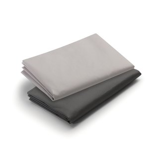 Graco Dark Grey/Pale Grey Pack 'n Play Playard Sheet (2 Count)