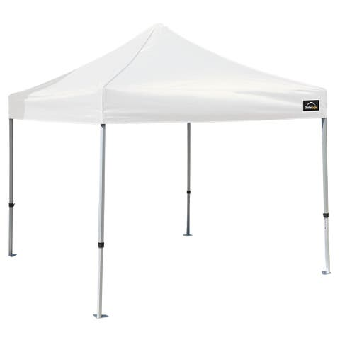 ShelterLogic Max Aluminum White Pop-up Canopy (10' x 10')