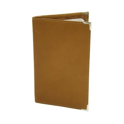 Piel Leather Vertical Score Card Cover