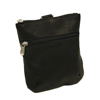 Piel Leather Zippered Valuable Pouch (2 options available)