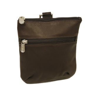 Piel Leather Zippered Valuable Pouch (3 options available)