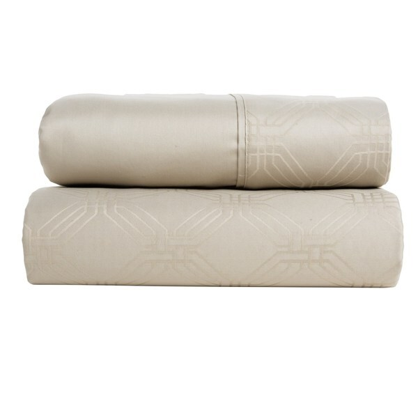 Christy Maddox Oyster King Size Cotton Duvet Cover (Shams Not Included)