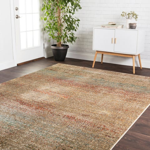 Transitional Bohemian Rust/ Grey Multi Rug - 12' x 15'