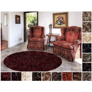 Shaw Swag Luxury Shag Area Rug (6' x 6')