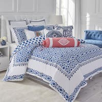 Dena Atelier Indigo Dream Cotton Duvet Cover (Shams Not Included)