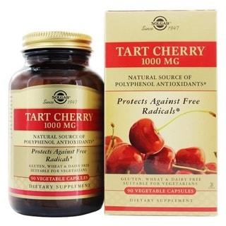 Solgar Tart Cherry 1000 mg (90 Vegetable Capsules)