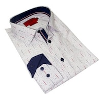 Elie Balleh Milano Italy Men's 2017 Style Slim Fit Shirt