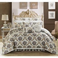 Chic Home Luxury 9-piece Zanotti Jacquard Comforter Set